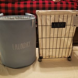Rae Dunn Laundry baskets